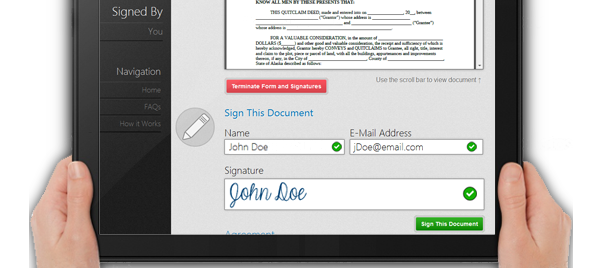 Avoiding Problems When Using Electronic Signatures